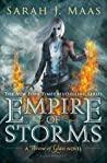کاور امپراتوری طوفانها (جلد 5 تاج و تخت شیشهای)